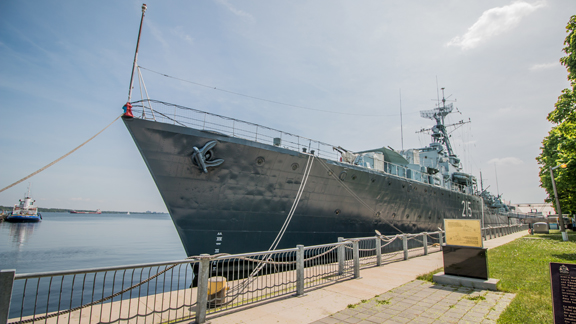 A young boy discovers Canada's most fightingest ship in the Royal Canadian Navy.