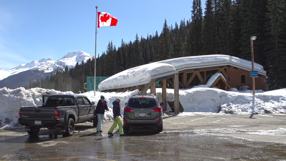 Parks Canada and Canadian Armed Forces operate the world's largest mobile avalanche control program to keep the Trans-Canada Highway and the Canadian Pacific Railway open through Rogers Pass.  
