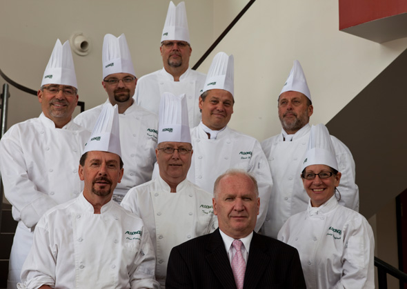 Michel Savard and Chefs