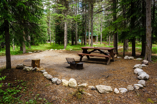 Mosquito Creek Campground © Parks Canada