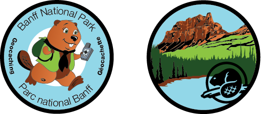 official Banff National Park Geocoin