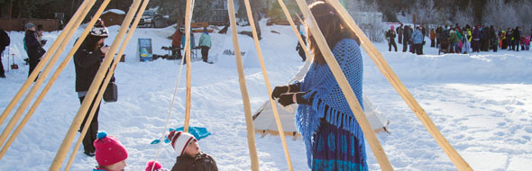 New Jasper National Park cultural winter experiences