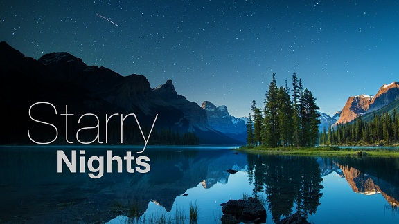 Starry Nights - Enthralled by his tablet screen, a young boy discovers the magic of the dark sky when a mysterious, wild sound beckons him to look up. Stunning night sky photography collapses time while an eerie soundscape mixes tablet beeps and sounds of the natural world. What sights and sounds will you experience under Jasper National Parks night skies?