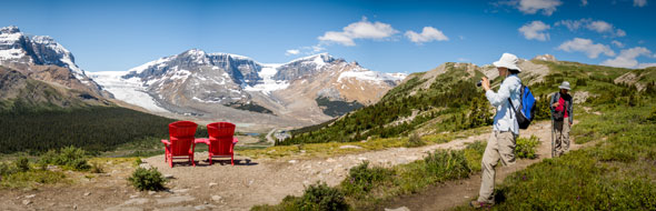 Where are the Red Chairs in Jasper National Park? © Parks Canada / O. Robinson