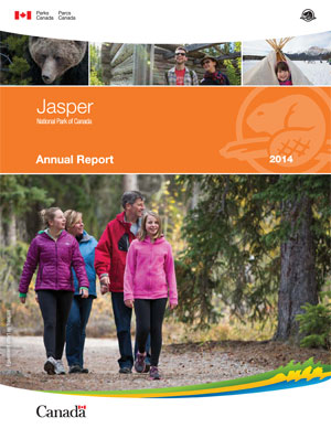 Jasper National Park of Canada Annual Report 2014