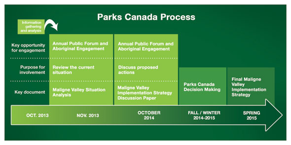 Maligne Valley Implementation Strategy Process