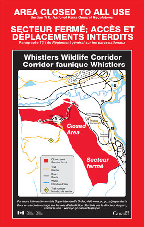 Whistlers Wildlife Corridor