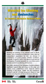 Ice Climbing brochure cover
