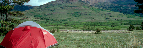 Camping in Waterton Lakes National Park
