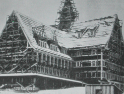 Prince of Wales Hotel construction
