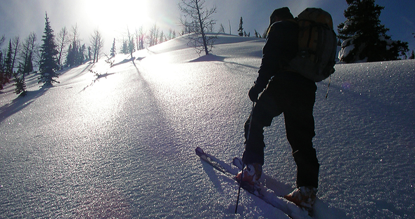 Ski Touring in Waterton Lakes National Park