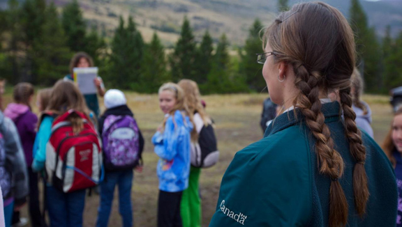 Ecosystem Investigator Camp - Parks Canada's award-winning Ecosystem Investigator Camp in Waterton Lakes National Park gives children in Alberta the chance to learn and play in nature.