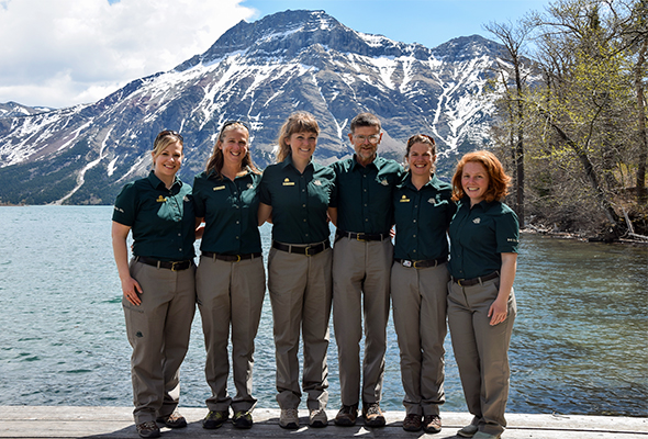 Waterton Lakes National Park interpreters 2014