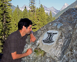 Rockgarden Trail with interpretive icon