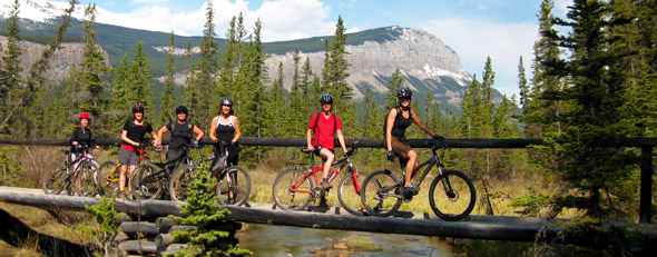 Cycling in Canada's Mountain Parks