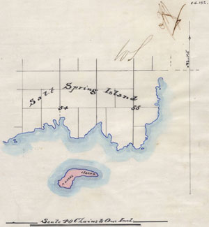 Russell Island was surveyed for settlement in 1874, and granted by the Crown to William Haumea in 1886.