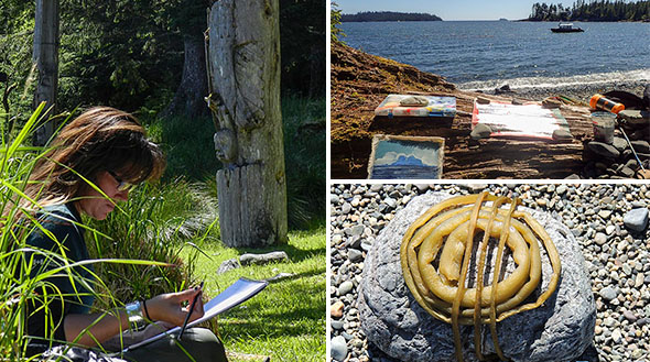 Artists experience Gwaii Haanas