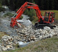 Culvert restoration at Nixon Creek © Parks Canada