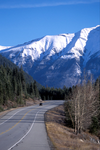 Highway 93 South © Parks Canada