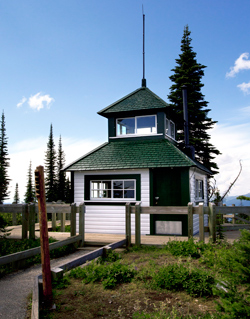 Historic fire observation tower