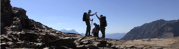 Burgess Shale hikers