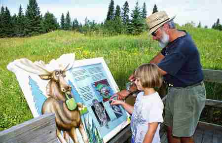 Self Guiding opportunities in Riding Mountain National Park