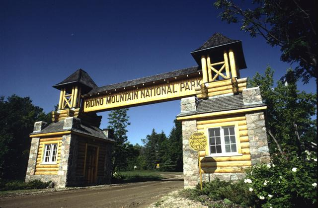 Riding Mountain Park East Gate Registration Complex National Historic Site of Canada