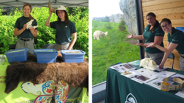 Come visit the Parks Canada booth at the Assiniboine Park Zoo!