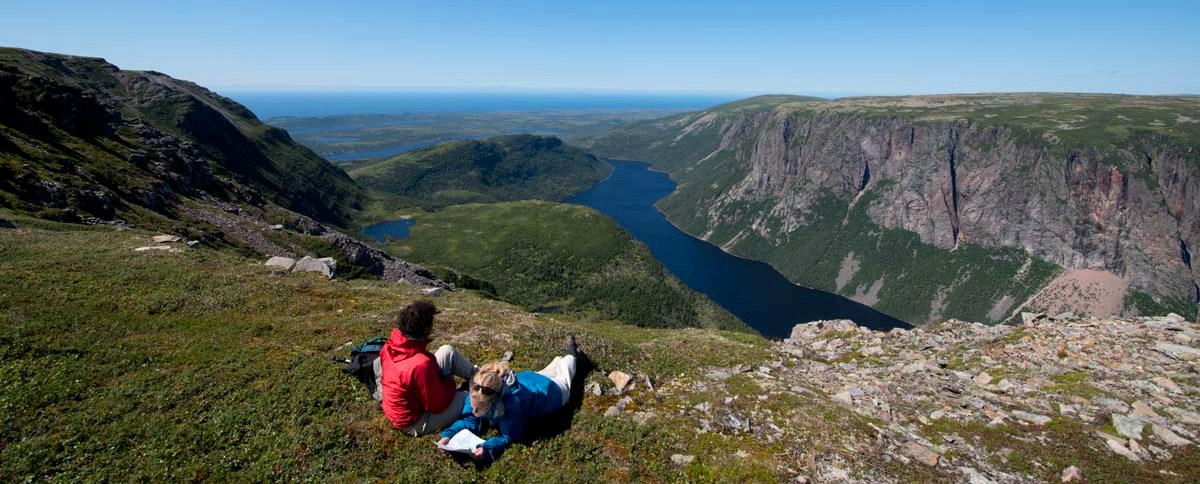 View from Gros Morne Mountain