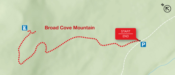 Map - Broad Cove Mountain