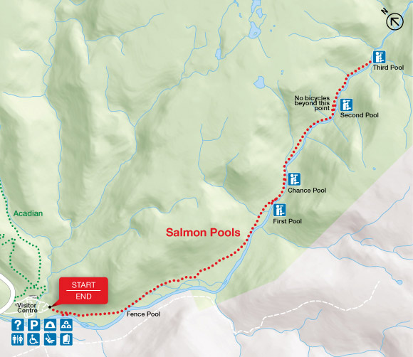 Map - Salmon Pools
