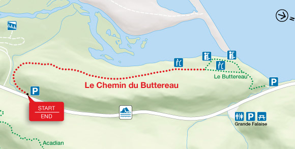 Map - Le Chemin du Buttereau
