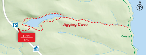 Map - Jigging Cove