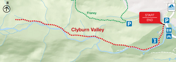 Map - Clyburn Valley