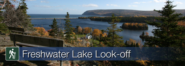 Freshwater Lake Look-off