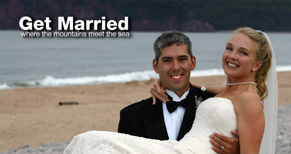 Get married in Cape Breton Highlands National Park
