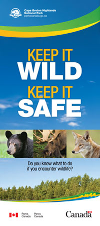 Keep It Wild, Keep It Safe brochure