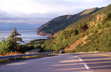 The Cabot Trail, a scenic travelway.