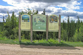 Wetlands Pull-off and Interpretive Trail