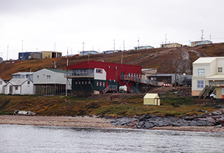 Parks Canada Office in Pond Inlet
