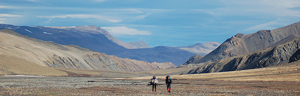 Hiking in Quttinirpaaq National Park