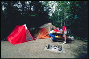 Camping at Cyprus Lake campground