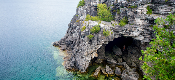 The Grotto, Bruce Peninsula National Park