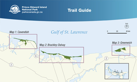 Prince Edward Island National Park - Trail Guide