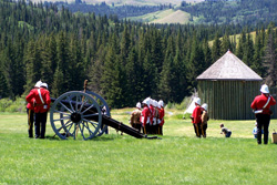 Fort Walsh Cannon Bastion