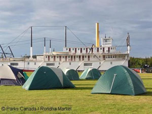 The Great Klondike Camp Out - S.S. Klondike National Historic Site of Canada