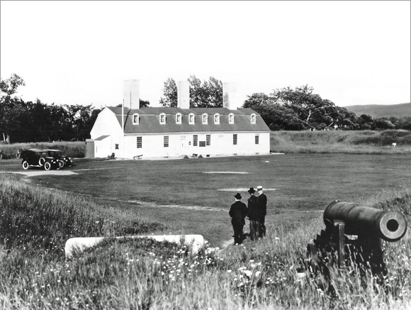 Fort Anne was one of Canada's first historic sites to be set aside, after local citizens lobbied to preserve it