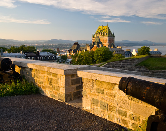 The historic district of Old Québec is a UNESCO World Heritage site and is considered one of the world's best examples of a fortified colonial city