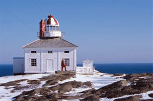 Cape Spear Lighttower, National Historic Site of Canada St. John's, Newfoundland and Labrador