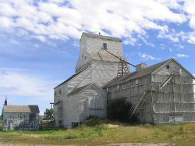 The Old Val Marie Elevator, Val Marie, Saskatchewan